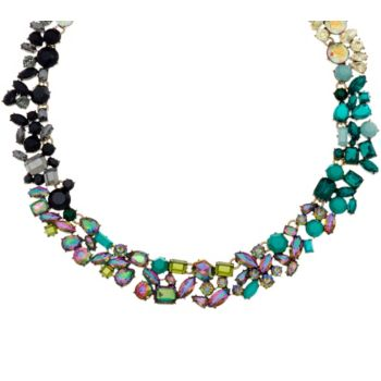 LOGO Links by Lori Goldstein Ombre Cluster Collar Necklace