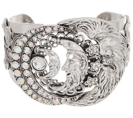 Kirks Folly Moon Shadow Cuff Bracelet