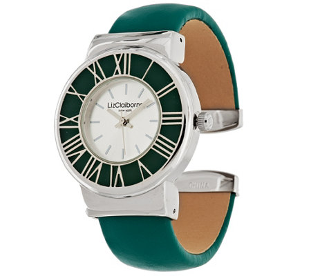 Liz Claiborne New York Cuff Watch