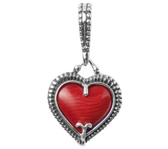 Carolyn Pollack Sterling Heart of Texas Charm - J299475