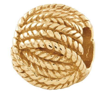 Prerogatives Gold-Plated Sterling Ball of YarnBead