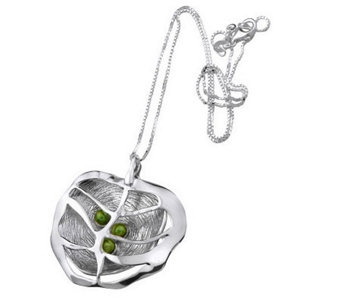 Hagit Gorali Layered Caged Vibes Pendant with Chain, Sterling - J305475