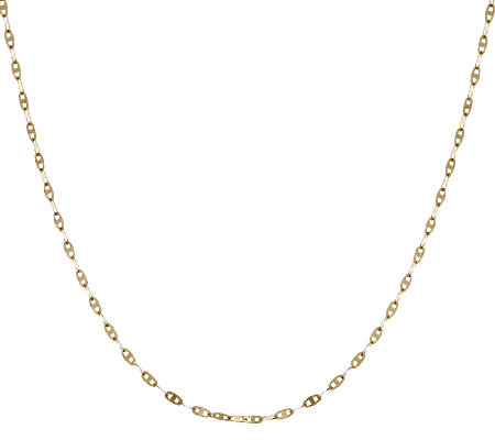 """As Is"" EternaGold 20"" Marine Link Necklace 14K Gold, 1.7g"