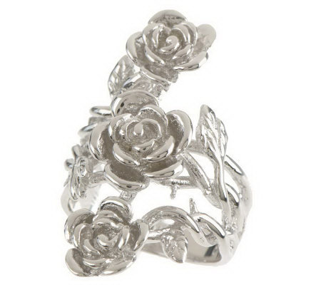 Priscilla Presley Three Rose Ring