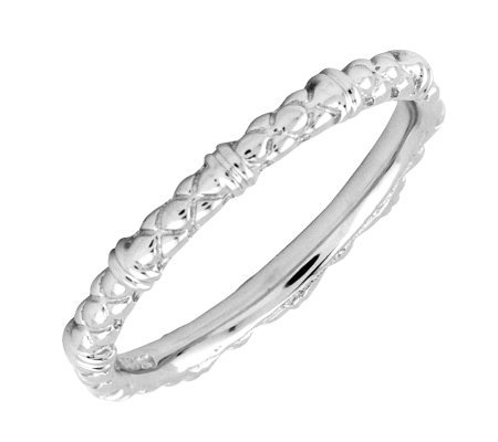 Simply Stacks Sterling Silver 2.25mm Cable Ring