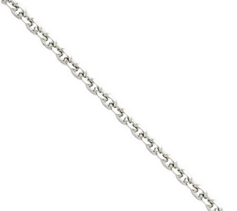 "Stainless Steel 3.4mm 24"" Cable Chain Necklace - J307276"
