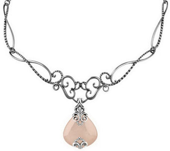 Carolyn Pollack Sincerely Fabulous Enhancer & Necklace - J311076