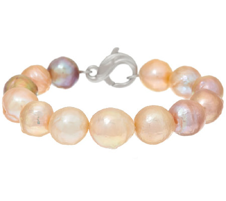 Honora Ming Cultured Pearl Small Sterling Bracelet