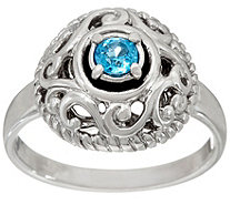 Carolyn Pollack Sterling Silver Signature Birthstone Ring - J333876