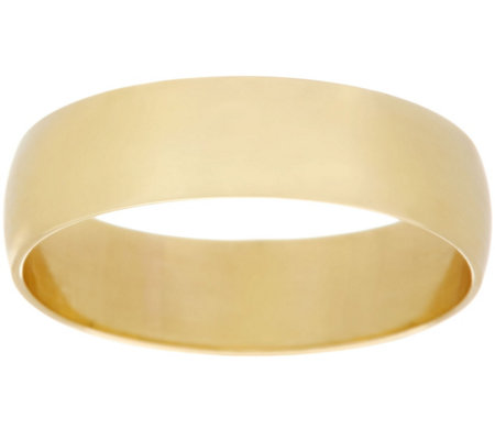 """As Is"" Dieci Solid Polished Band Ring 10K Gold"