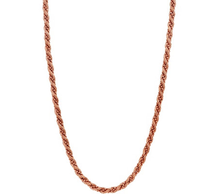 "Sterling 18"" Twisted Rope & Bead Chain by Silver Style, 12.9g"
