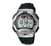 Casio Men's Casual Black Sports Watch - J103477
