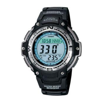 Casio Men's Digital Compass Twin Sensor Resin Band Watch