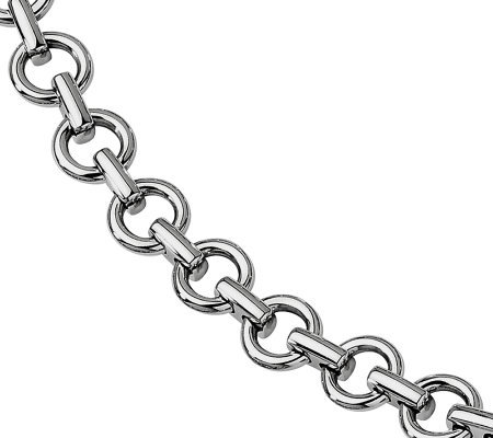 "Forza 8-1/4"" Polished Links Bracelet"