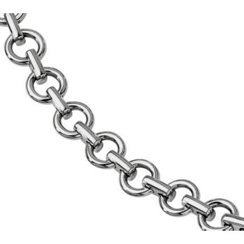 Forza 8-1/4 Polished Links Bracelet