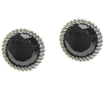 Judith Ripka Sterling Gemstone Stud Earrings - J337777