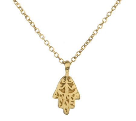 "Satya Mini Hamsa 18"" Necklace"