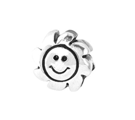 Prerogatives Sterling Smiling Sun Bead