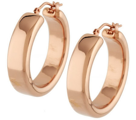 Oro Nuovo 1 Quot Square Tube Design Hoop Earrings 14k Page