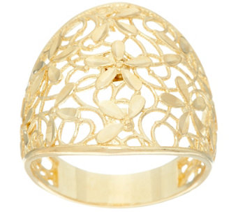 Dieci Lace Design Graduated Band Ring, 10K Gold - J332578