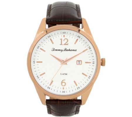 Tommy Bahama Siesta Key Rosetone Watch