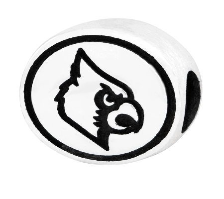 Sterling Silver University of Louisville Bead