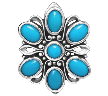 Carolyn Pollack Sterling Turquoise M agnetic Insert