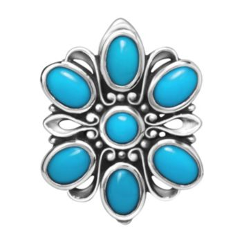 Carolyn Pollack Sterling Turquoise Magnetic Insert