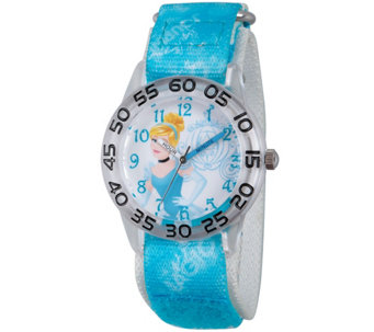 Disney Princess Cinderella Girls' Time Teacher Watch - J342279