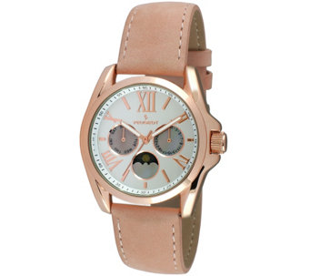 Peugeot Women's Rosetone Multi-Function Watch - J344579