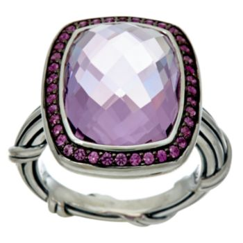 Peter Thomas Roth Sterling 7.70 ct Gemstone Cocktail Ring