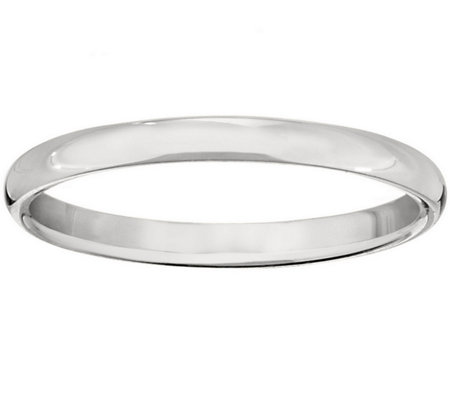 Men's Platinum 2mm Half Round Wedding Band