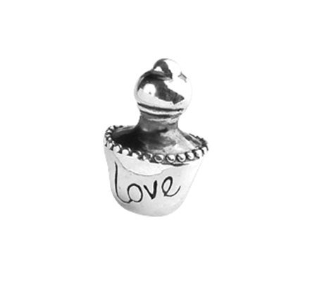 Prerogatives Sterling Love Perfume Bottle Bead