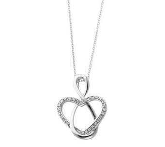 "Sentimental Expressions Sterling 18"" Lifetime Friend Necklace - J310580"