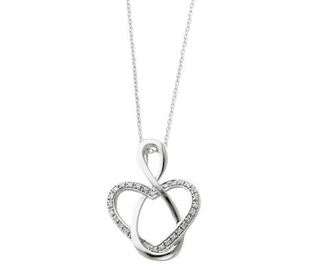 "Sentimental Expressions Sterling 18"" Lifetime Friend Necklace"