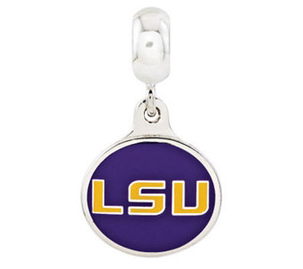 Sterling Silver Louisiana State University Dangle Bead - J314980