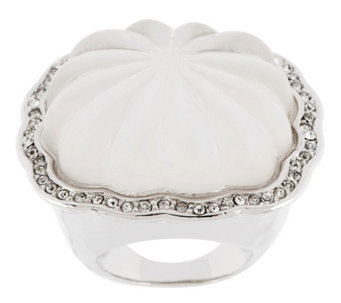 """As Is"" Kenneth Jay Lane's Fluted Style Ring - J332680"