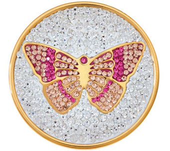 Killarney Crystal Butterfly Coin Disk - J284281