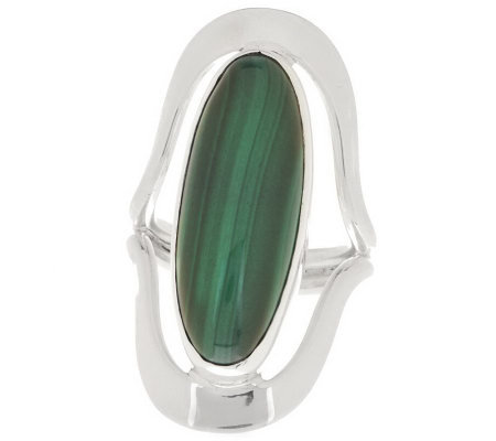 Dominique Dinouart Artisan Crafted Sterling Gemstone Ring
