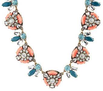 """As Is"" Joan Rivers Vintage Style Crystal Bee 18"" Necklace - J330681"
