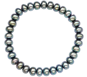 "Honora Cultured Pearl 7.0mm - 8.0mm Rondel 7-1/2"" Bracelet - J336681"