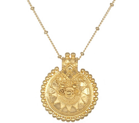 "Satya Mandala Pendant with 36"" Chain"