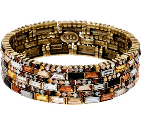 LOGO Links by Lori Goldstein Prismatic Stretch Bracelet