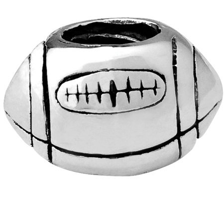 Prerogatives Sterling Football Bead