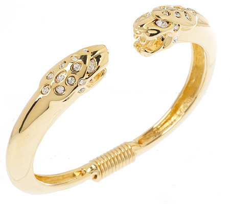 Kenneth Jay Lane's Ferocious Jaguar Bangle
