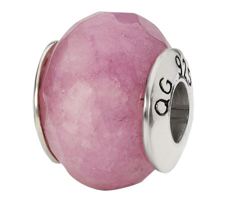 Prerogatives Sterling Lavender Quartz GemstoneBead