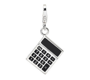 Amore La Vita Sterling Dimensional Calculator Charm - J307782