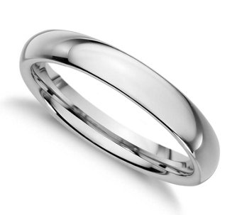 Sterling Silver 3MM Silk Fit Unisex Wedding B and Ring - J309982