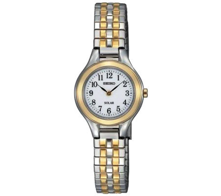 Seiko Women's Two-Tone Expansion Band Dress Watch