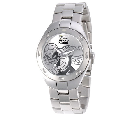 Marvel Men's Spider-Man Stainless Steel Watch